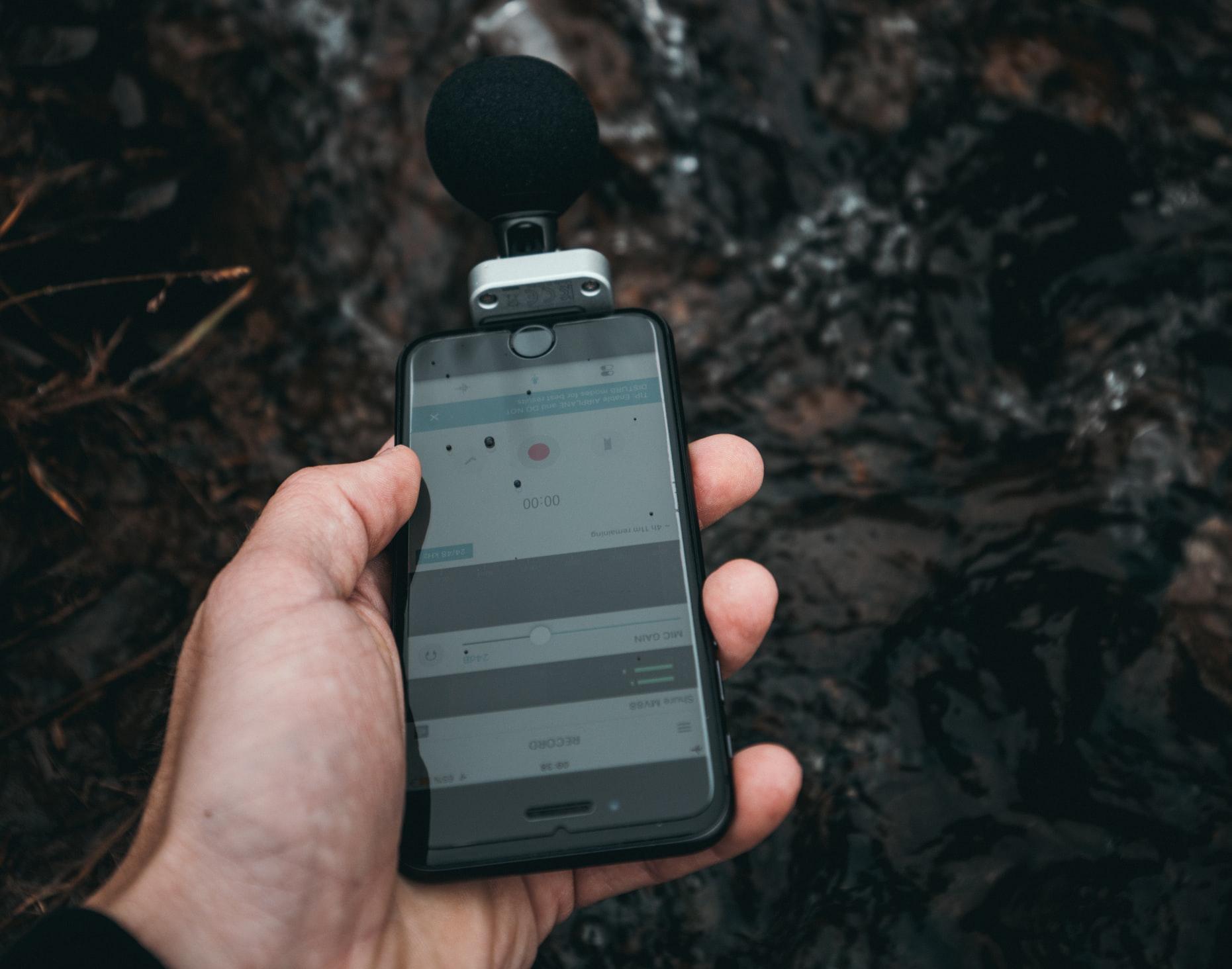 Външен микрофон за телефон