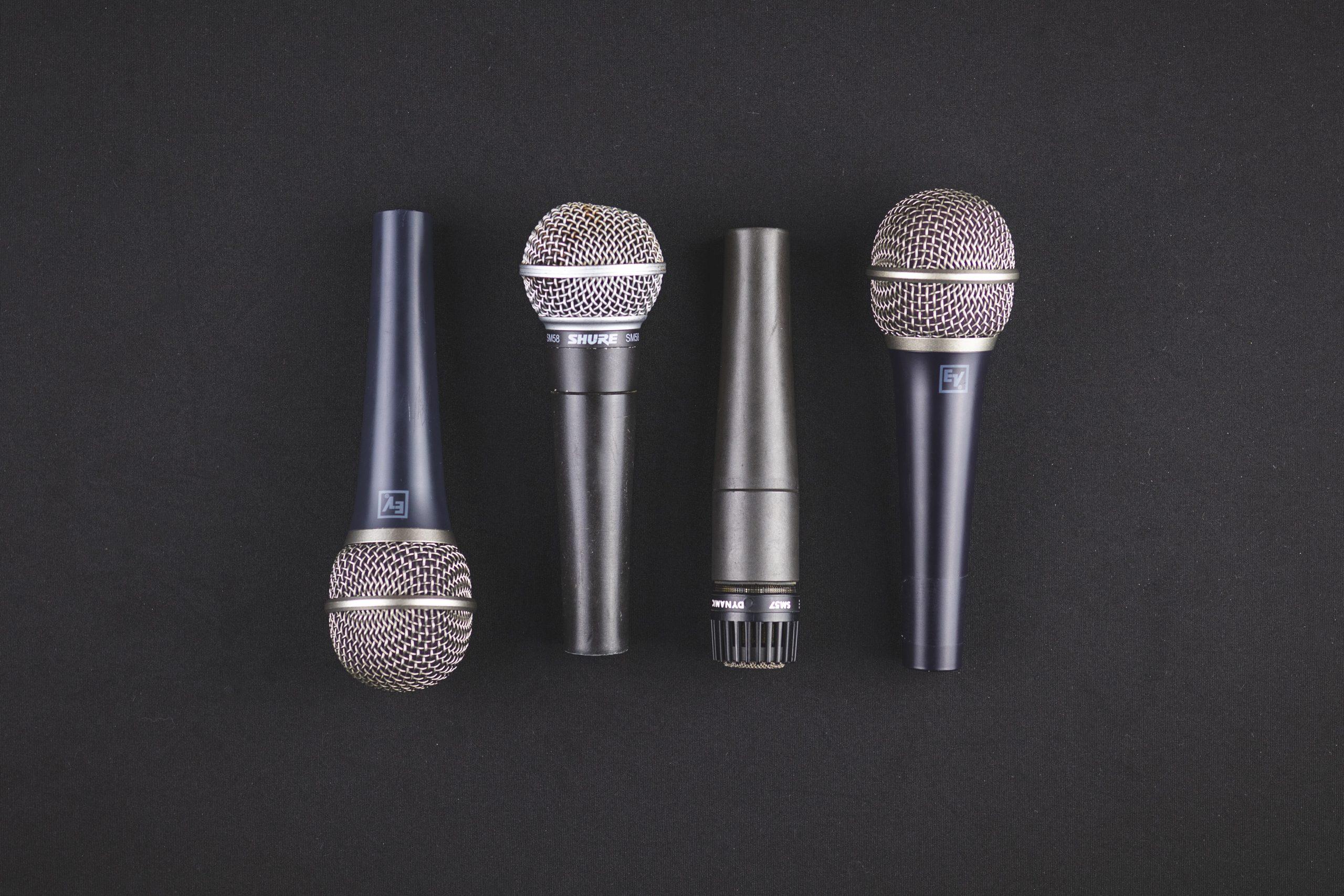 Видове микрофони